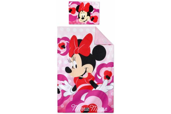 Gyerek ágyneműhuzat, Disney Minnie, ovis 90×140cm, 40×55 cm