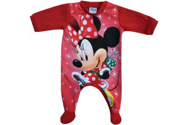 Bolyosan bélelt karácsonyi rugdalózó, Disney Minnie (méret: 56-74)