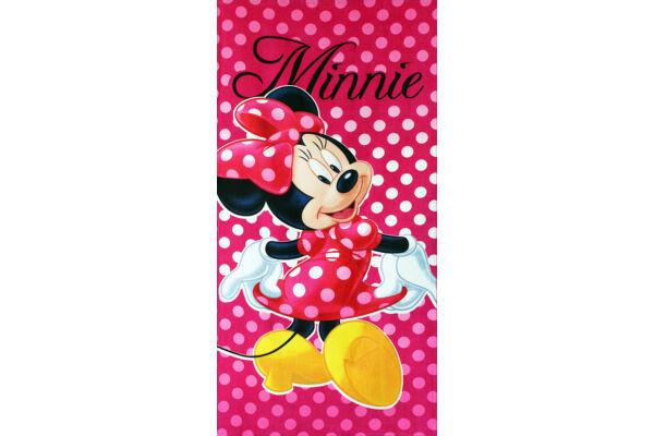 Pamut fürdőlepedő strand törölköző Disney Minnie 70X140 cm