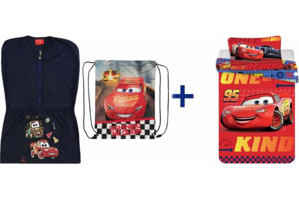 Oviszsák tornazsák csomag, ovis méretű ágyneműhuzattal, Disney Verdák