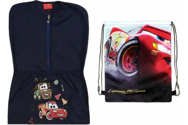 Verdák Disney Cars csomag oviszsákkal és tornazsákkal