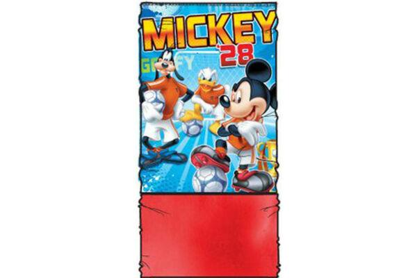 Gyerek sál, csősál, snood, belül polár béléssel, Disney Mickey (47-54 cm)