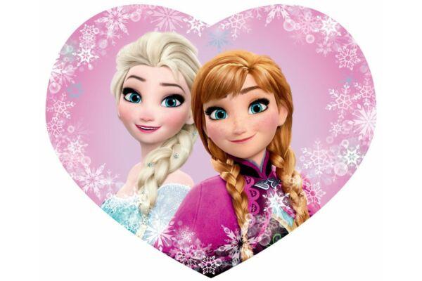 Párna, formapárna Jégvarázs, Disney Frozen, szív alakú