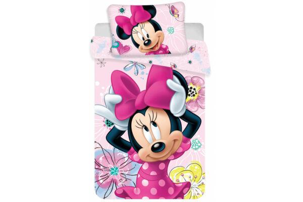 Gyerek ágyneműhuzat, Disney Minnie, ovis 100x135, 40x60 cm