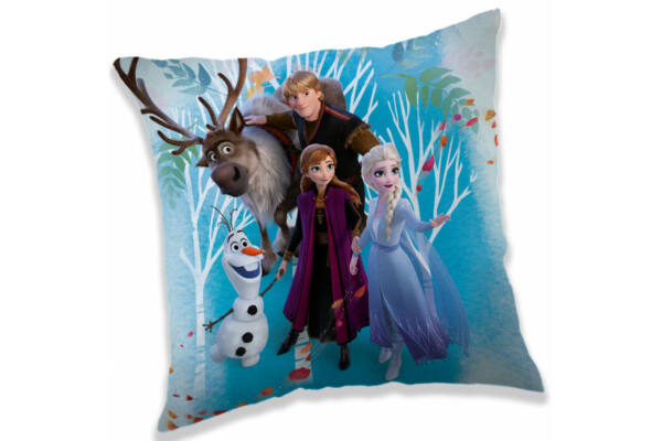 Párna, díszpárna Disney Frozen, Jégvarázs, 40*40 cm