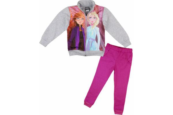 Gyerek melegítő szett, bolyhosan bélelt, Jégvarázs, Disney Frozen 2.
