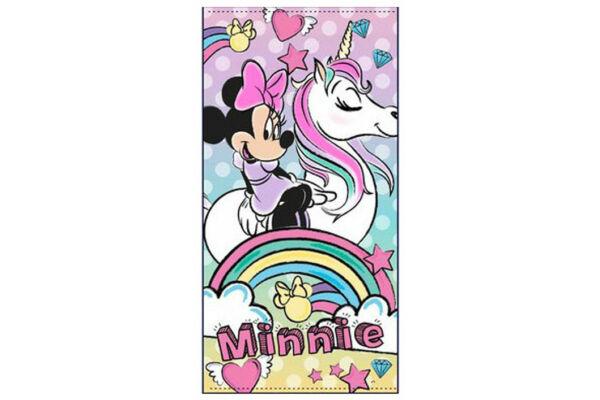 Poliészter fürdőlepedő strand törölköző Disney Minnie 70X140 cm